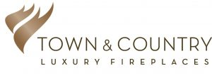 Town & Country Luxury Fireplaces offered by Diamond Willow Heating & Air, Cochrane Airdrie HVAC, AC, Furnace Services